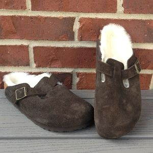 New Birkenstock Boston Shearling Clog, 36 N